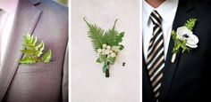 Figlewicz Photography + HBD Photography // Mindy Rice/Aaron Delesie // Stout Photography/Blooms by Martha Andrews Fern Wedding Details | SouthBound Bride #fern #weddingtrends