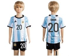 http://www.xjersey.com/argentina-20-gaitan-home-youth-2016-copa-america-centenario-soccer-jersey.html ARGENTINA 20 GAITAN HOME YOUTH 2016 COPA AMERICA CENTENARIO SOCCER JERSEY Only 33.11€ , Free Shipping!