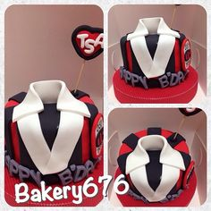 Soccer shirt cake Hombres / niños Men / kids  Pastel / cupcakes / cake Bakery 676