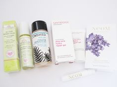 Amarya #Organic /# Natural #Beauty Box - August with Cowshed, Pomegranate, Santaverde and NEOM