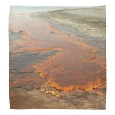Red Mineral Water Yellowstone Park Bandana