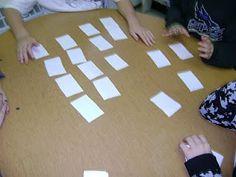Hands On Math: Teaching Properties Associative, Commutative, Distributive, etc, Through Matching