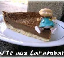 Recette - Tarte aux carambars - Notée 4.5/5 par les internautes