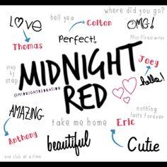 Midnight Red @midnightrednation on instagram