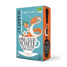 Clipper Teas Organic White Tea with Natural Peppermint Flavour 26 Bags – Clipper Tea Shop Clipper Tea, Used Tea Bags, Waste Container, Tea Packaging, Packaging Ideas, Packaging Design, Clear Plastic Bags, Vanilla Flavoring, Reggio Emilia
