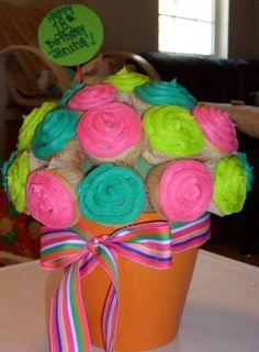 My sisters 18th Birthday Cupcake Boquet