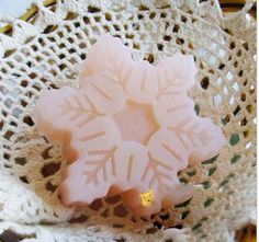 $6 snowflake soap mold