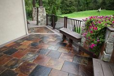 """The New Generation of Decking"" Transform your outdoor living space with DekTek Tile's luxury tile decks! The beautiful alternative decking creates the ultimate outdoor experience with it's low-maintenance, no-fade, & non-combustible decking material that has a Wow-Factor!"