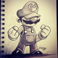 The Art of Derek Laufman Marvel Drawings, Disney Drawings, Cartoon Drawings, Cartoon Art, Art Drawings, Art Sketches, Doodle Characters, Graffiti Characters, Doodle Art Drawing