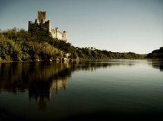 Castelo de Almourol, Praia do Ribatejo #Portugal #Travel