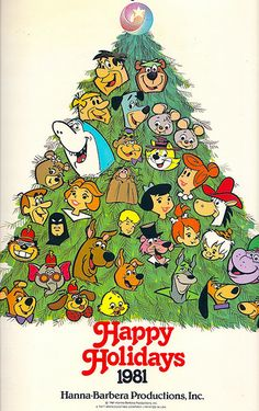 Hanna-Barbera 1981 Studio Calendar I seriously don't remember this calendar, but I know all the characters!