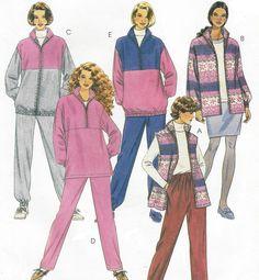 90s Womens Plus Size Casual Separates Vest Jacket by CloesCloset