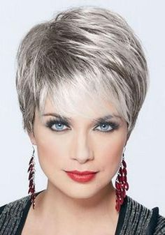 Image result for hairstyles for short hair over 60