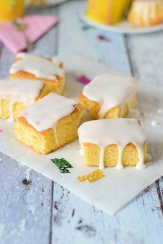 Zitronenkuchen vom Blech oder auch als Zitronen Mini Gugl