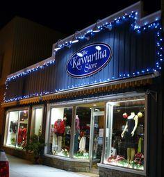 The Kawartha Store in Fenelon Falls first Christmas!