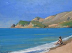 Buy Eristos Beach, Tilos, Greece, Oil painting by Malcolm Ludvigsen on Artfinder. Discover thousands of other original paintings, prints, sculptures and photography from independent artists.