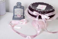"Passion 4 baking  ""French chocolate chiffon cake(chocolate ganache glaze)"