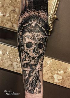 #skulltattoo #tattoo