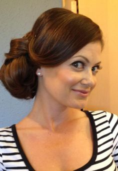 MODERN Facebook fan Michelle Luna created this stunning updo perfect for weddings, prom and formal events. Get .the how-to here!