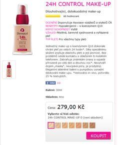 nake up Dernacol - jako jediný český má velkou paletu odstínů , Lucka hodnotí jako TOP make up Up, Blog, Blogging