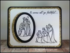 SU All Ye Faithful Front View - SU - Christmas - All Ye Faithful and Every Blessing stamp sets