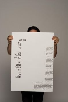 "garadinervi: "" Melissa Gutekunst and Quimey Servetti, (from) Tabula Rasa – Werkschauplakatserie, 2015 "" Layout Design, Font Design, Music Poster, Typo Poster, Tabula Rasa, Graphic Design Posters, Graphic Design Inspiration, Poster Designs, Editorial Layout"
