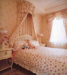 Though you might think that girls bedroom themes are cliched and just put in a load of stuff in pink and your job is job, it is a far cry from reality. There are so many girl bedroom themes ideas that you can choose. Girls Bedroom Curtains, Bed Curtains, Bedroom Themes, Kids Bedroom, Kids Rooms, Bedroom Ideas, Bedroom Stuff, Girl Bedrooms, Dream Kids