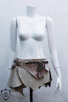 Dothraki Leather Skirt
