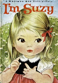 """My mama often called me """"Suzy Snowflake"""" when I was growing up & this illustration is so sweet. I love the plump, dimply arms of children."""