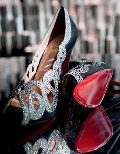 Christian Louboubin Embellished Heels <3