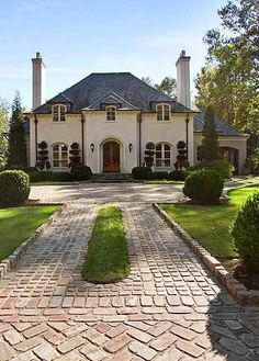 New ideas house entrance design french country French Country Exterior, French Country House, French Country Decorating, Country Living, French Style Homes, Country Style Homes, Rustic Style, Entrance Design, House Entrance