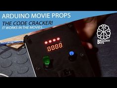 Staged - The Code Breaker Box! Making Movie Props using an Arduino - Part 2