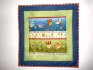 wall hanging for a children's room Sand Crafts, Kids Room, Presents, Quilts, Child's Room, Blanket, Wall Hangings, Children, Handmade Gifts