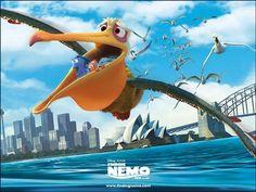 Nigel Finding Nemo Adventure Movies Wallpaper Free For Tablet . Disney Pixar, Film Disney, Disney Movies, Pixar Movies, Cartoon Movies, Disney Cars, Finding Nemo Movie, Finding Nemo 2003, Adventure Movies