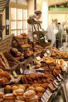 Bakery Section, Harrods.
