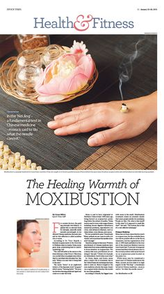 The Healing Warmth of Moxibustion Epoch Times #newspaper #editorialdesign