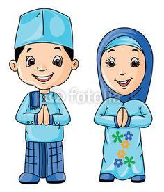 2000 Wallpaper Animasi Anak Muslim  Gratis
