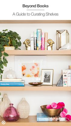 A little new year style tip from Target Home Style Expert, Emily Henderson: Breathe new life into a space by going beyond books on your shelves. Group a few larger items like bowls and vases. Curate some quirkier items like these Cast Metal Bookends and last add a pop of color like this hot pink Spritz banner to liven up the wall.