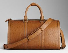 Burberry - Ostrich Leather Holdall