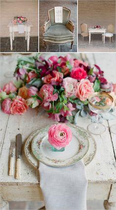 vintage wedding ideas. loving this centerpiece!