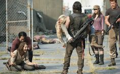 the walkind dead 5x08 Daryl and Beth