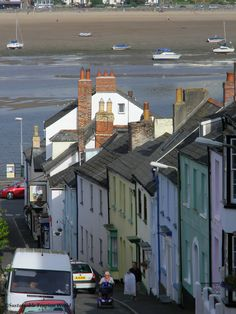 Appledore, Devon, UK Lived for a year in one of those houses on the opposite side of the river in Instow