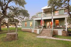 Built in 1860, located in Round Top, Texas . . the ROUND TOP INN