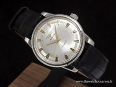 Longines Conquest Heritage 1954 - 2014 acier - BaselWorld 2014