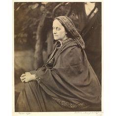 Lady Elcho as the Cumaean Sibyl (Photograph) Date: September 1865 (photographed) Place: London Artist/maker: Julia Margaret Cameron