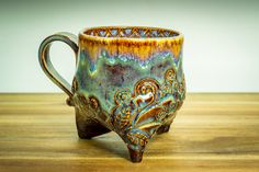 Amaco Potters Choice, Temmoku  and Lustrous Jade