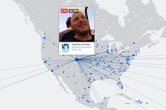 Facebook live video map Colorado Springs