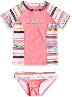 Roxy 2-Pc. Little Indi Swim Set, Little Girls (4-6X)