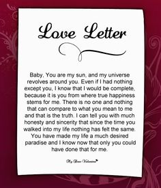 Love Letter For Him: Dear, I think about the time before you were a part of my life. I remember being aimlessly drifting from one place to another. Funny Love Letters, Love Letters Quotes, Romantic Love Letters, Romantic Love Quotes, Love Poems, Love Quotes For Him, Romantic Msg, The Words, Love Letter To Girlfriend