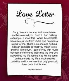 Love Letter For Her #55